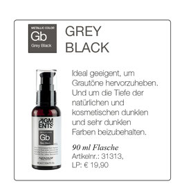 Gb GREY BLACK Metallic Color 90 ml