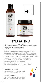 Hd HYDRATING Shampoo & Maske 200 ml