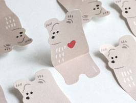 Animal sticky note