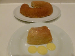 Steamed Lemon Pudding (GF)
