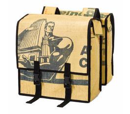 Gepäckträgertaschen Upcycling fürs Fahrrad
