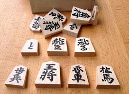Spielstein, Holz, bedruckt, Dose