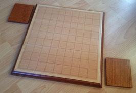 Verziertes Holzbrett mit Komadai
