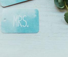 """Kofferanhänger """"MRS"""""""