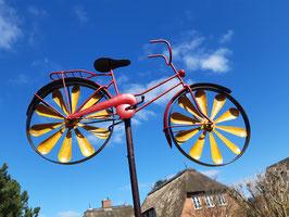 """Windspiel """"Fahrrad"""" ***Neue Farben***"""