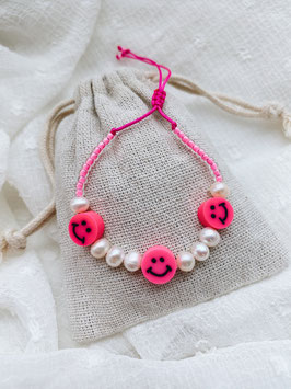 Makramee Pink Smile