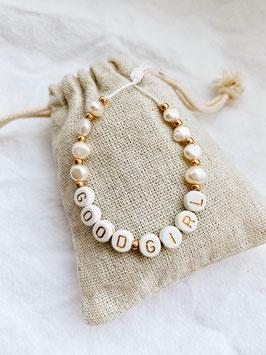 Makramee Pearl GOLD