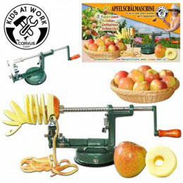 Appelschil-machine