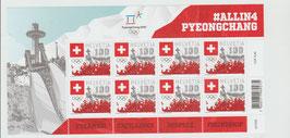 Kleinbogen aus der Schweiz, Olympische Winterspiele 2018