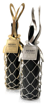 Vinstrip Flaschenverpackung mit Botschaft