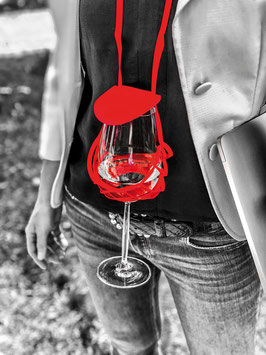 Vinstrip Weinglashalter