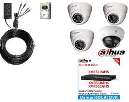 Kit vidéosurveillance professionnel Dahua