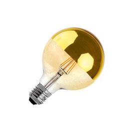 G125 E27 6W LED Vrhunska žarilna nitka z žarilno nitko (zatemnjena)