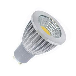 LED žarnica GU10 5W 90º COB
