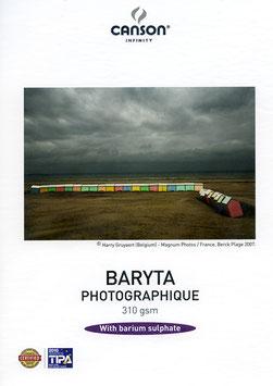 TIRAGE SEUL SUR PAPIER CANSON INFINITY BARYTA PHOTOGRAPHIQUE PRESTIGE 340g ( BRILLANT ).