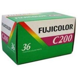 FUJI - Pellicule photo Fujicolor C200 (200 ISO) 135/36P .