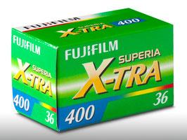 FUJIFILM film X-TRA (400 ISO)