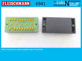 6941 Fleischmann Klemmplatte Spur N und H0