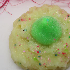 Vanilla and Lime Duftwachs Cookie