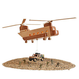 WOOD Magazine Mil-Spec CH-47 Chinook Helicopter