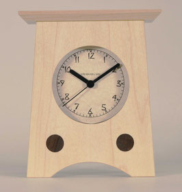 Arts and Crafts Clock Solid Maple   AC-2-MA