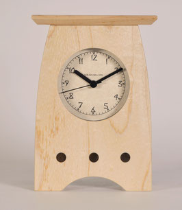 Arts and Crafts Clock in Solid Maple   AC-3-MA