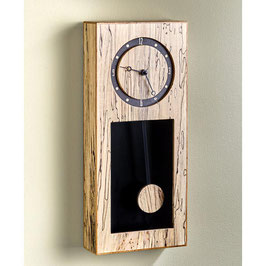 Spalted Maple Wall Clock Clock Parts and WOOD Magazine Plan
