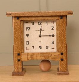 Greene & Greene Pendulum Mantel Clock  GG-PEND-NBO