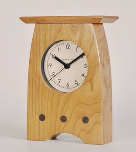 Arts and Crafts Clock in Solid Cherry   AC-3-CH