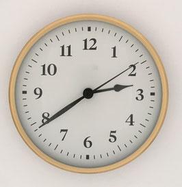 "6""  (152mm)  Quartz Clock Fit-Up Movement-- White Arabic Dial --WHILE SUPPLIES LAST!!"