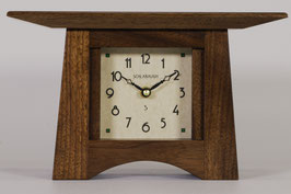 Craftsman Mantel Clock in Solid Walnut  CM-WAL