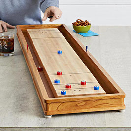 Tabletop Shuffleboard Kit and  WOOD Magazine Plan Options