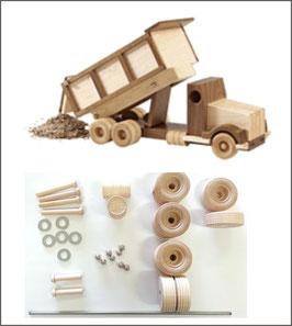 WOOD Magazine Construction-Grade Dump Truck Kit
