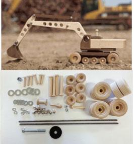 WOOD Magazine Construction-Grade Excavator Kit