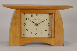 Arts and Crafts Mantel Clock in Solid Cherry  ACM-6-CH