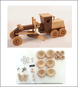 WOOD Magazine Construction-Grade Motor Grader Kit