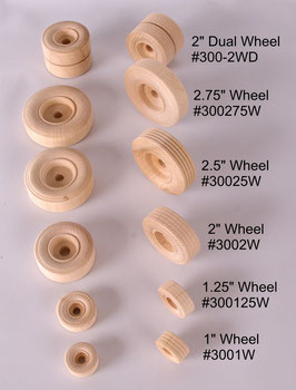 Solid Birch Wheels