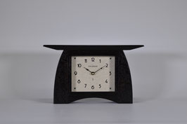 Arts and Crafts Mantel Clock with Slate  Oak Finish ACM-6-SLATE