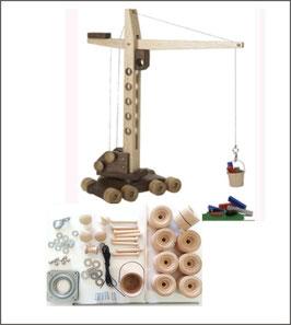 WOOD Magazine Construction-Grade Mobile Crane Kit