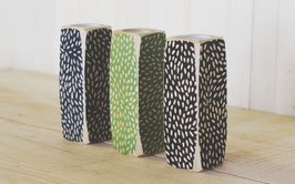 """5.5"""" Tall Candleholders--Dots Pattern    K-CH02-DT"""