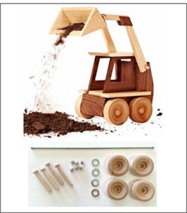 WOOD Magazine Construction-Grade Skid Loader Kit
