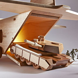 Tank Plan and Parts by WOOD Magazine