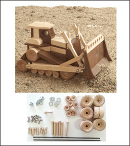 WOOD Magazine Construction-Grade Bulldozer Kit