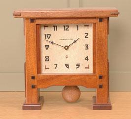 Greene & Greene Pendulum Mantel Clock GG-PEND-MAH
