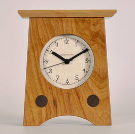 Arts and Crafts Clock Solid Cherry   AC-2-CH