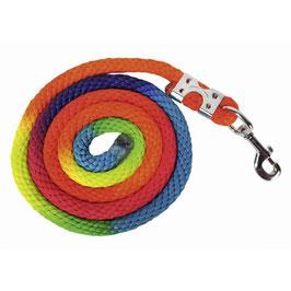 HKM Strick -Multicolor- mit Karabinerverschluss