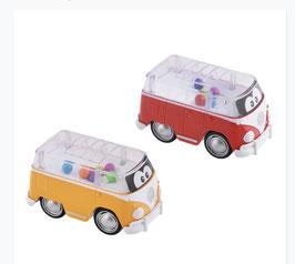 Fahrzeugmodell VW Bus Samba Poppin