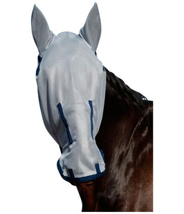 Bucas Buzz-Off Full Face Fly Mask - blue - Fliegenmaske