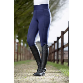 Reitleggings -Highwaist- Style Silikon-Vollbesatz