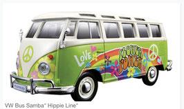 "VW Bus Samba ""Hippie Line"""
